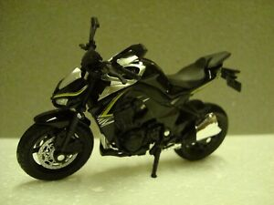 Kawasaki Z 1000 -  2014  schwarz -  Welly 1:18