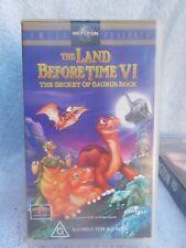 THE LAND BEFORE TIME VI(6)(UNIVERSAL No VSU 1716) VHS TAPE G (LIKE NEW)