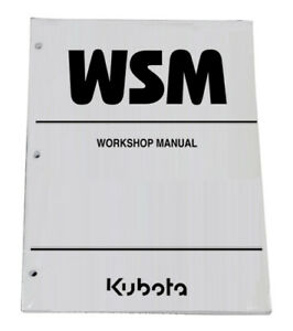 Kubota BX1800, BX2200 Tractor Workshop Service Repair Manual Shop Book