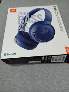 Harman JBL Tune 500BT Wireless Bluetooth On-Ear Headphones - Blue