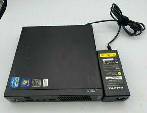 Lenovo ThinkCentre M72e Intel Core i3-2120T@2.6GHz 8GB RAM 500HDD Win-10 Tiny PC