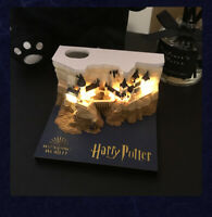 Harry Potter Hogwarts Castle Revealed Memo Pad with Lights Boxed Christmas Gift