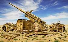 BRONCO CB35114 1/35 German 88mm L71 Flak41 Anti-Aircraft Gun w/Sd.Ah.202 Trailer