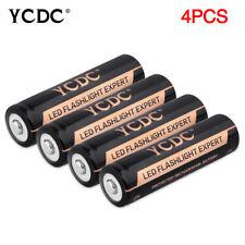 4X 18650 Batería Baterías 9900mAh 3.7V Li-ion recargable linterna para exteriores