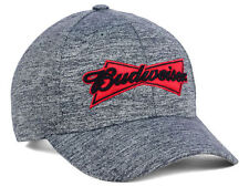 fd37bdc2c75 New Budweiser Bud Beer Heathered Adjustable Cap Hat