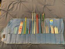 Vintage Knitting Needle and Crochet Hook Set - Approximately (50-60)