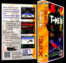 T-Mek - 32X Reproduction Art Case/Box No Game.