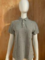 TOMMY HILFIGER CUSTOM FIT T-Shirt Tee Shirt S Small SM Gray Women's 2015 Polo