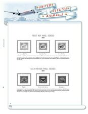U.S. Airmail Stamp Supplement 1918 - 2012 (White Ace Alternative)