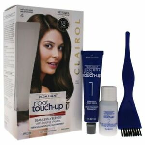 Clairol Permanent Root Touch Up - No. 4 Dark Brown New NIB Fresh