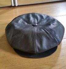 Gerard SENE Designer Français en cuir souple Hat Newsboy Cap Femme Homme Chapeau