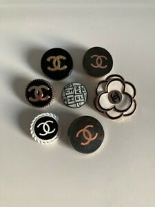 7 Chanel Metal Buttons