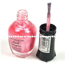 1 Kleancolor Nail Polish Lacquer #68 Pink Star Manicure