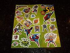 SUPERMAN - FREE STICKERS - DC Comic