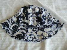 NWT Gap Girl Blue First Party Sun Hat XS/S 12-18-24 m