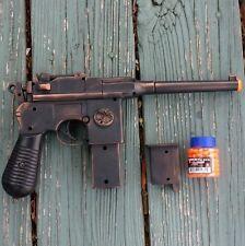 Steampunk Gun toy copper AIRSOFT BB ZOMBIE mauser broomhandle c96 diesel punk