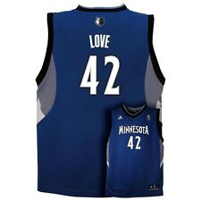 ($50) Minnesota Timberwolves Kevin Love NBA Adidas Jersey jóvenes niños chicos (XL)