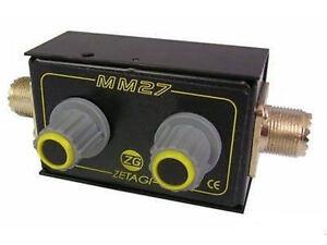 ZETAGI MM-27 Accordatore d'antenna -antenna matcher 26-28 MHz   COD.33027