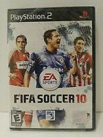 FIFA Soccer 10 (Sony PlayStation 2, 2009) Game Brand New Sealed