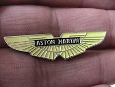 ASTON MARTIN PIN BADGE CLASSIC BRITISH CAR OWNERS CLUB MOTORSPORT SPORTS CAR