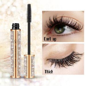 5D Silk Voluminous Fiber Mascara Eyelash Waterproof Longlasting Makeup Diamond !