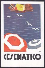 PUBBLICITARIA CESENATICO AZIENDA AUTONOMA Illustratore RETROSI Cartolina