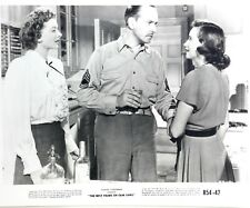 Vintage The Best Years of our Lives Samual Goldwyn 8 x 10 Press Photo 1954