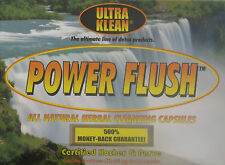 Ultra Klean Power Flush Natural Herbal Cleansing Capsules Drug Toxin Detox Kit
