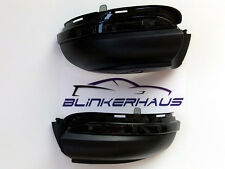 VW GOLF VI MK6 GTI R 20 GTD CABRIO SMOKED MIRROR LED TURN SIGNAL PUDDLE LIGHTS