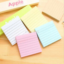 Post it Notes 3 x 3 Notebook Memo Pad Bookmark Paper Sticker Notepad Hot CA