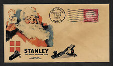 Stanley Planes Ad Reprint with 90 year old stamp on Collector's Envelope *OP282