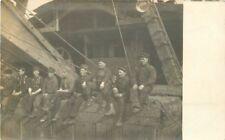 C-1910 Occupation Worker Mining Crane Equipment RPPC real photo postcard 521