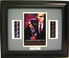 AMERICAN PSYCHO FRAMED MOVIE FILM CELL CHRISTIAN BALE