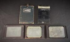 COLLECTION PHOTO - Lot de 5 porte-films châssis presse 2 Zeiss Ikon 1 Hemax