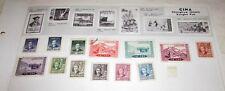 13 francobolli China Cina Mao stamps
