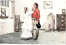 DB62. Antique Tucks Postcard. The Gentle Art of Making Love. Love Knots the Beau