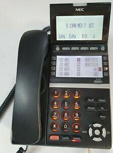 NEC DTZ-8LD-3A(Bk) tel DT400 series 12 months w/ty. Tax invoice