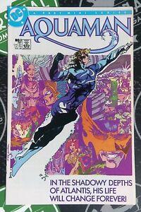 Aquaman #1-4 1986 DC Comics 4 Part Mini Series Justice League Sea King Atlantis