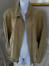 BALLY Couture Designer Reversible Deer Leather Jacket VTG style RICKY NEW