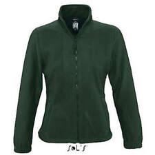 Kuschelige dicke Fleecejacke 16 Farben Damen auch neon warm weichGr.S M L XL XXL