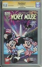 WALT DISNEY MICKEY MOUSE #1 SS CGC 9.8 SKETCH COMICS TO ASTONISH STORE VARIANT