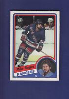 Mike Rogers 1984-85 O-PEE-CHEE OPC Hockey #152 (NM+) New York Rangers