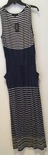 Max Edition women's size XL maxi dress. Striped/ multicolor/ sleeveless NWT