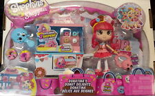 SHOPKINS SHOPPIES DONATINA'S DONUT DELIGHTS PLAY SET with 2 exclusive SHOPKINS
