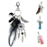 Keychain Woman Man Keychain Tassel Pendant Charm Fancy Fashion Gift S3B9