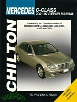 Haynes Workshop Manual Mercedes Benz C Class 2001 2007 C230 C240 Repair Service Ebay