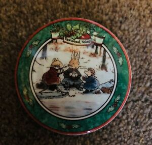 Villeroy & Boch Foxwood Tales Trinket Dish / Keepsake Lid Pot with Lid