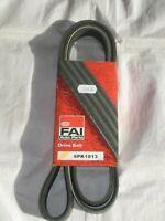 FORD FIESTA 1.8 16V XR2I ALTERNATOR DRIVE BELT +PS -AC 1991 to 1993 FAI 6PK1813
