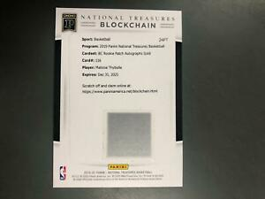 Matisse Thybulle 2019 National Treasures Autograph Patch Blockchain Digital A13