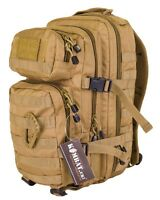 Coyote Desert Small 28 ltr Molle Daysack Army Camping Rucksack Assault Pack